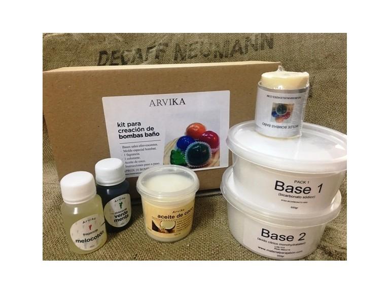 kit bombas de baño efervescentes