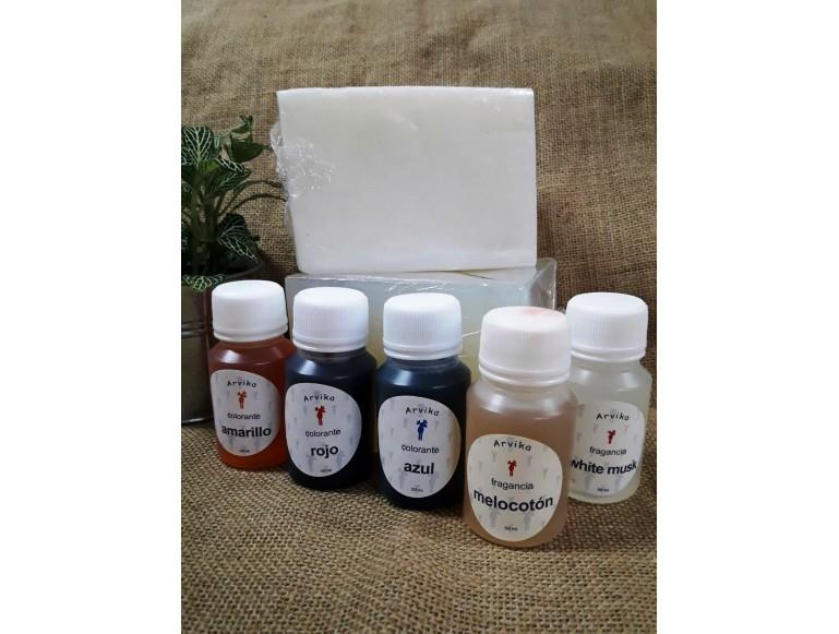 oferta variado para hacer jabón