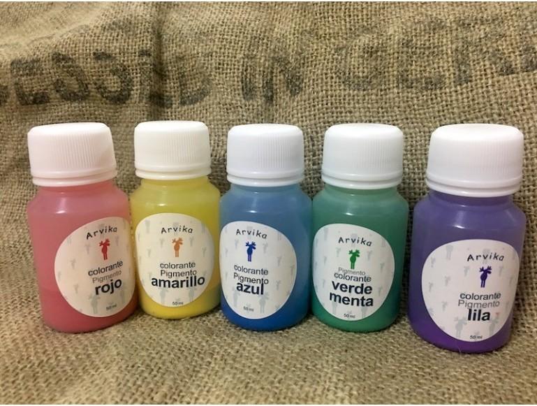 Pigmento ROJO- NO MIGRA desde 50ml