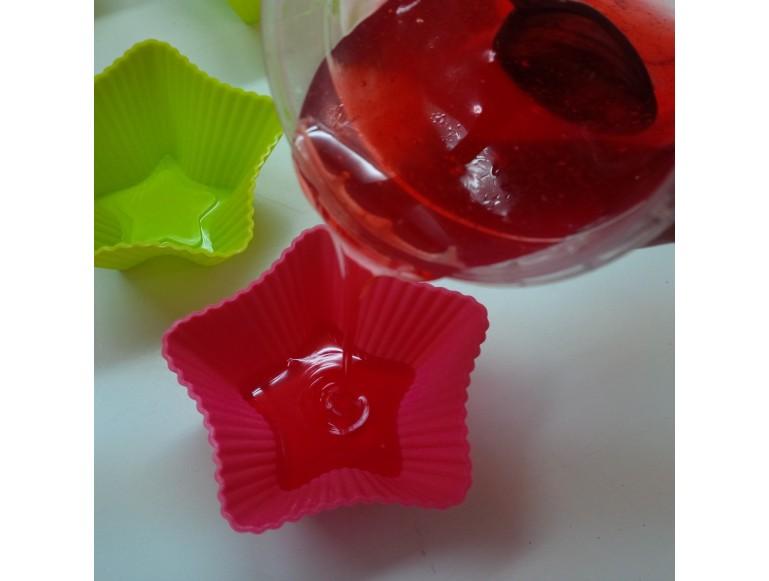 Molde Silicona doble rosa