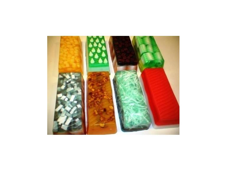 Jabones de glicerina artesanales